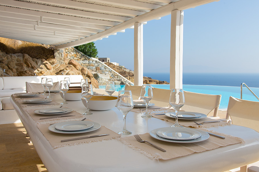 the king of villas rental mykonos luxury