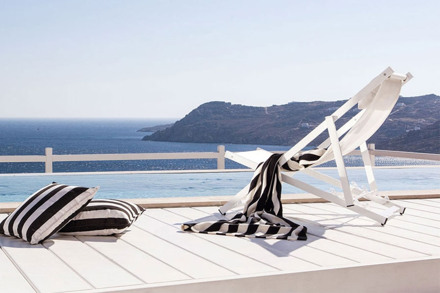 the king of villas rental mykonos aegean blue