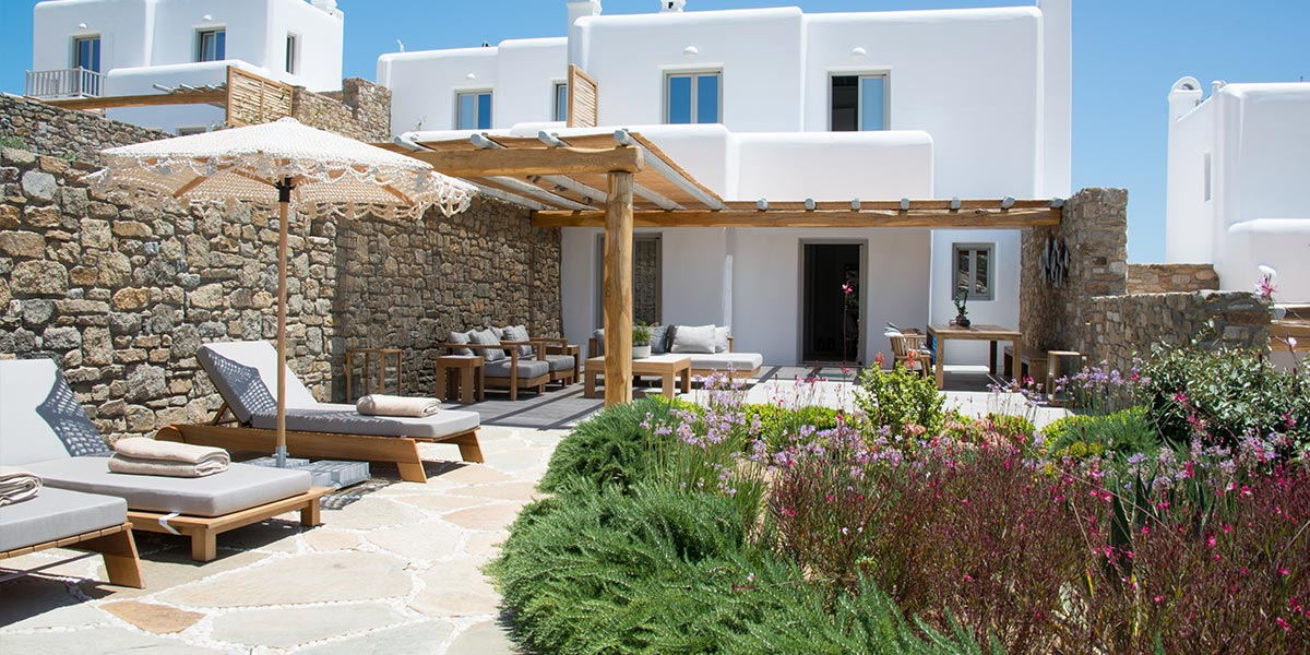 family villas in mykonos