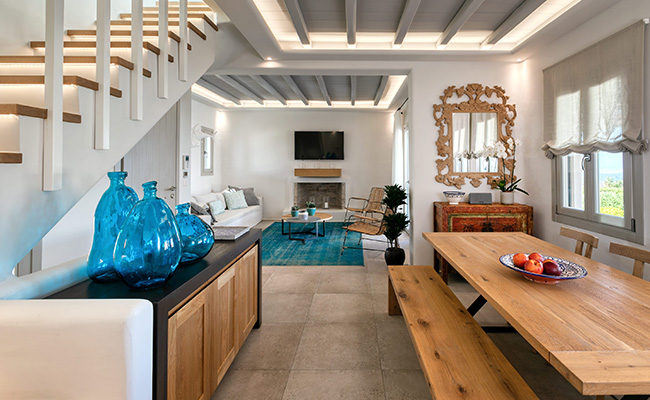 king of mykonos luxury villa rental